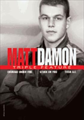 Matt Damon Triple Feature