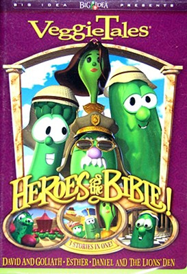 Veggie Tales: Heroes of the Bible / Lions Shepherds & Queens on My