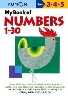 My Book of Numbers, 1-30 9784774307039