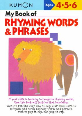My Book of Rhyming Words & Phrases 9784774307626