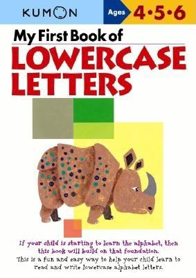 My First Book of Lowercase Letters 9784774307060
