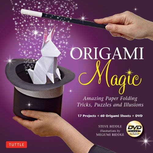 Origami Magic Kit: Amazing Paper Folding Tricks, Puzzles and Illusions [With Book and DVD] 9784805312100