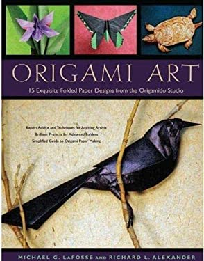 Origami Art: 15 Exquisite Folded Paper Designs from the Origamido Studio 9784805309988