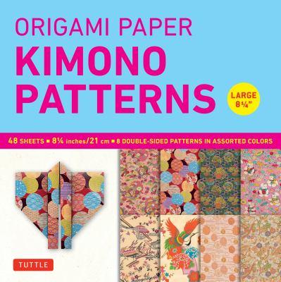 Origami Paper Kimono Patterns Large 8 1/4