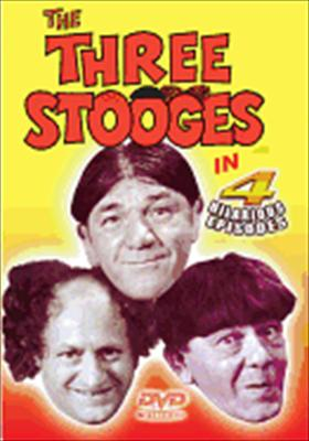 Three Stooges: 4 Hilarious Episodes
