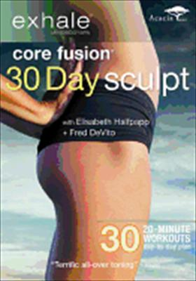 Exhale-Core Fusion-30 Day Sculpt