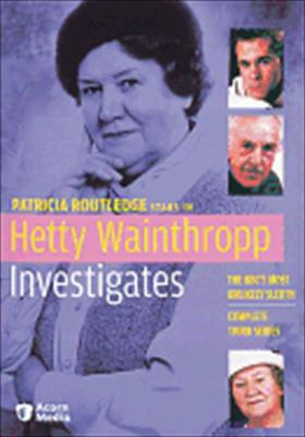 Hetty Wainthropp Investigates: Complete Third Series