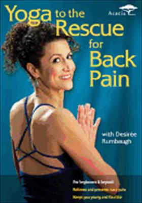Yoga to the Rescue for Back Pain with