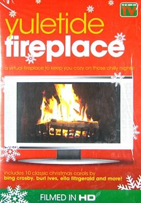 Yuletide Fireplace/Virtual Aquarium 2pk