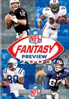 NFL Fantasy Preview 2003