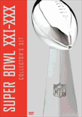 NFL Super Bowl Collector's Set XXI - XXX