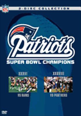 New England Patriots: Super Bowl Champions XXXVI & XXXVIII