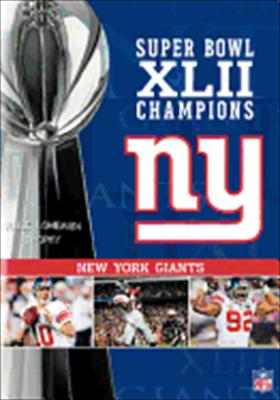 Super Bowl XLII Champions: New York Giants