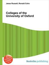 Colleges of the University of Oxford 20231279