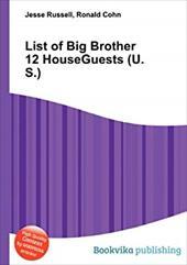 List of Big Brother 12 HouseGuests (U.S.) 20186167