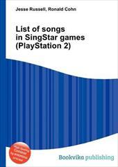 List of Songs in SingStar Games (PlayStation 2) 20188033