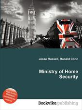 Ministry of Home Security 19901933