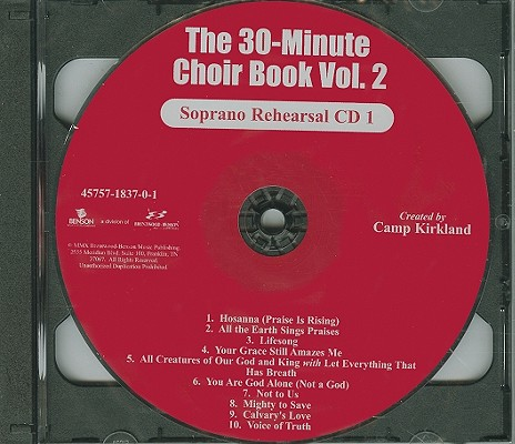 The 30 Minute Choir Book, Volume 2-Soprano