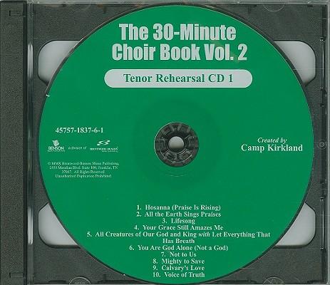 The 30-Minute Choir Book, Volume 2-Tenor