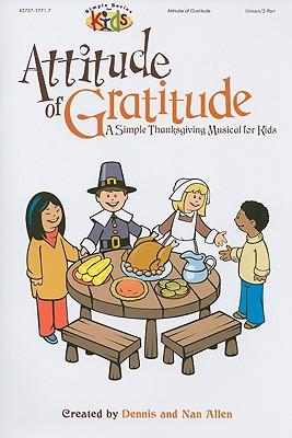 Attitude of Gratitude: Unison/2-Part
