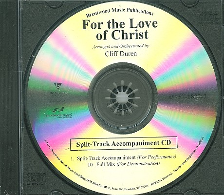 For the Love of Christ