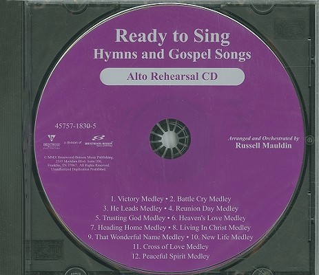 Ready to Sing Hymns and Gospel Songs-Alto