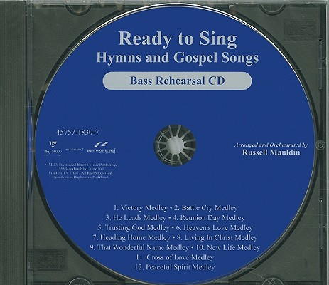 Ready to Sing Hymns and Gospel Songs-Bass