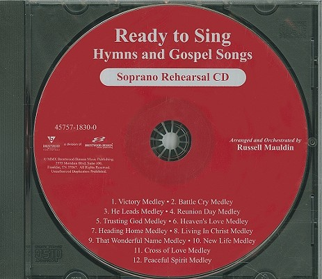 Ready to Sing Hymns and Gospel Songs-Soprano