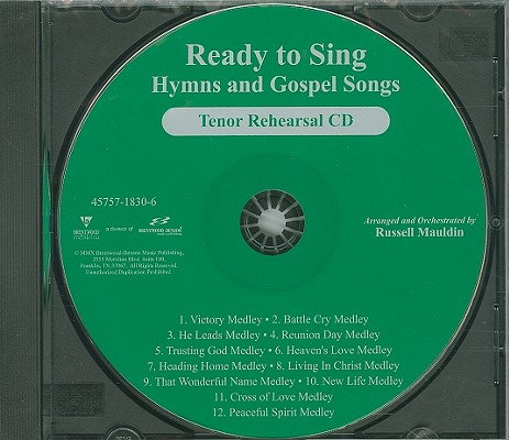 Ready to Sing Hymns and Gospel Songs-Tenor