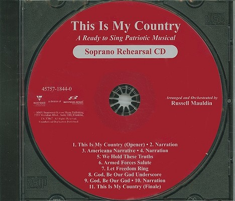 This Is My Country-Soprano