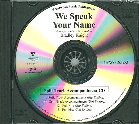 We Speak Your Name