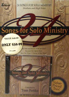 24 Songs for Solo Ministry, CD/Book Combo [With Split-Channel CD]