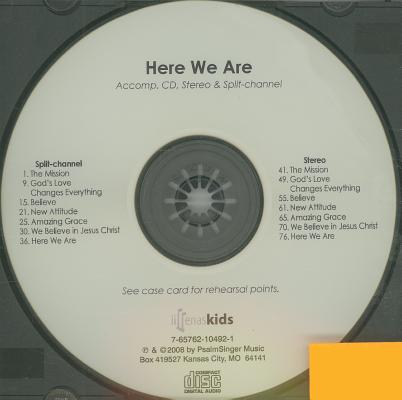 Here We Are: An Easy-To-Sing, Easy-To-Stage Musical for Children on Love, Belief, Grace & Praise
