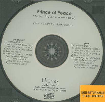 Prince of Peace: A Christmas Presentation of 5 Songs in Unison/2 Part