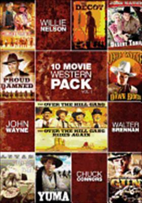 10 Movie Western Pack Volume 1