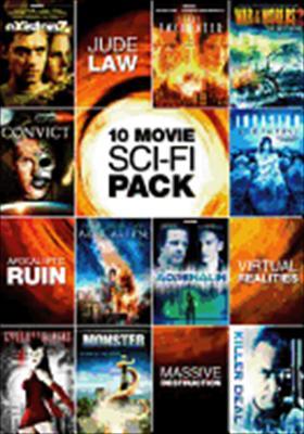 10 Movie Sci-Fi Pack