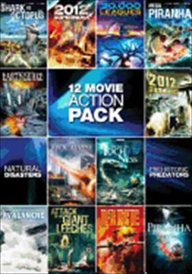 12 Movie Pack: Sci Fi Action Pack