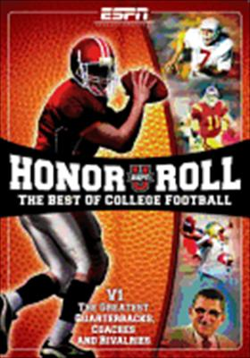 Espnu Honor Roll Best of College Football Volume 1