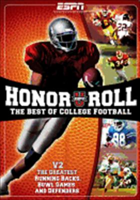 Espnu Honor Roll Best of College Football Volume 2