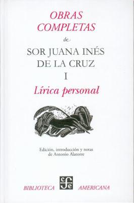Obras Completas I, Lirica Personal 9786071601773