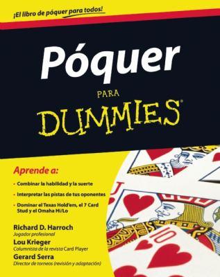 Poquer Para Dummies 9786070707049