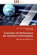 Valuation de Performance Des Syst Mes Informatiques 9786131582707