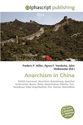 Anarchism in China 9786130295813