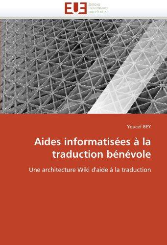 Aides Informatis Es La Traduction B N Vole 9786131518478
