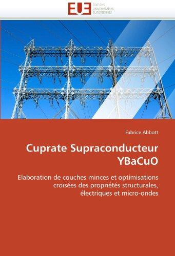 Cuprate Supraconducteur Ybacuo 9786131545719