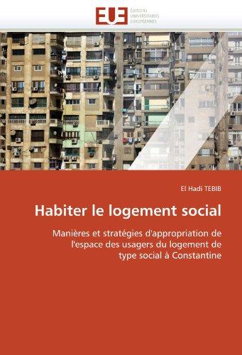 Habiter Le Logement Social 9786131546518