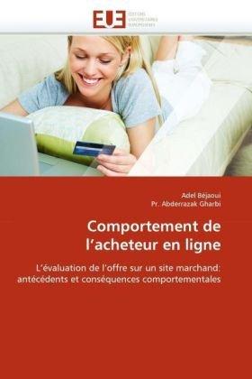 Comportement de L'Acheteur En Ligne 9786131547706