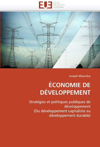 Economie de Developpement 9786131554667