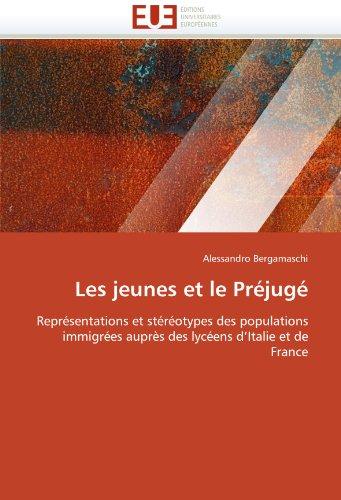 Les Jeunes Et Le Prejuge 9786131554896