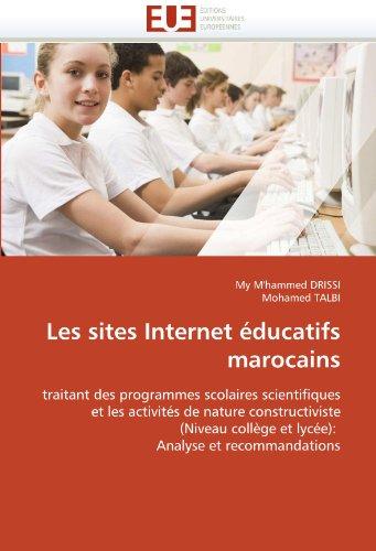 Les Sites Internet Educatifs Marocains 9786131555015
